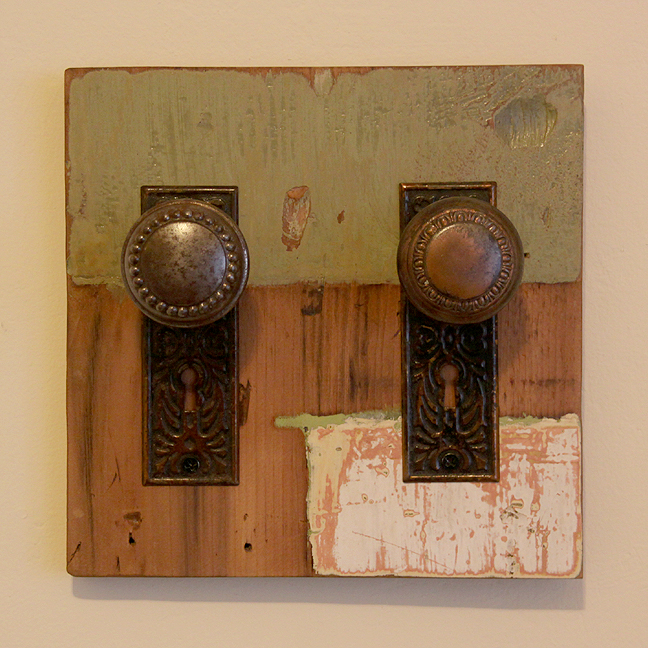 Vintage Doorknob Coat Racks