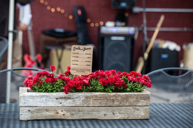 Custom Driftwood Flower Box by Hundred Acre.
