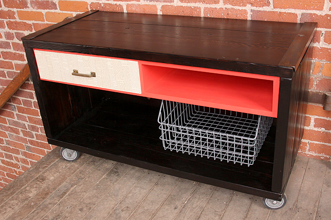 homes media cart by hundred acre design #4