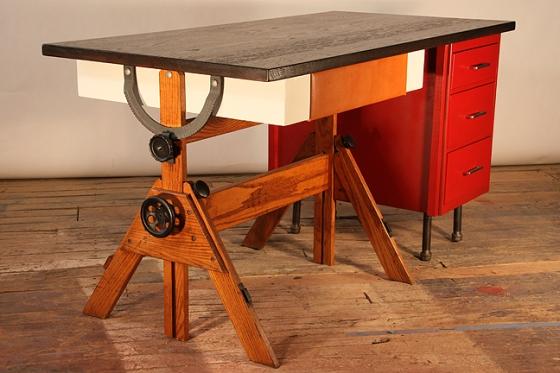 leo desk by hundred acre design #1