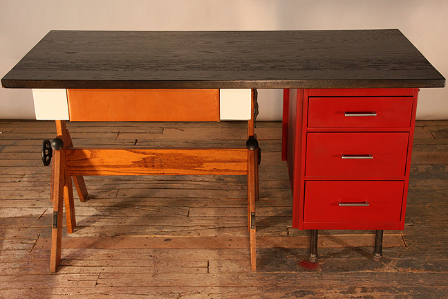 leo desk by hundred acre design #2