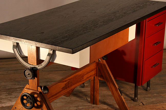 leo desk by hundred acre design #4