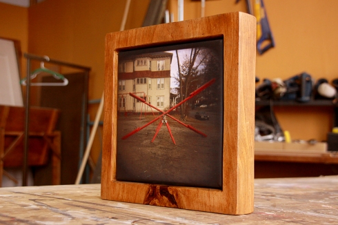 Canvas Print with Solid Reclaimed WoodFrame