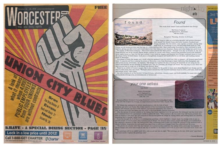 Worcester Magazine Found