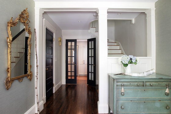 Residential Renovation Part 5: The Foyer and Powder Room – Before & After