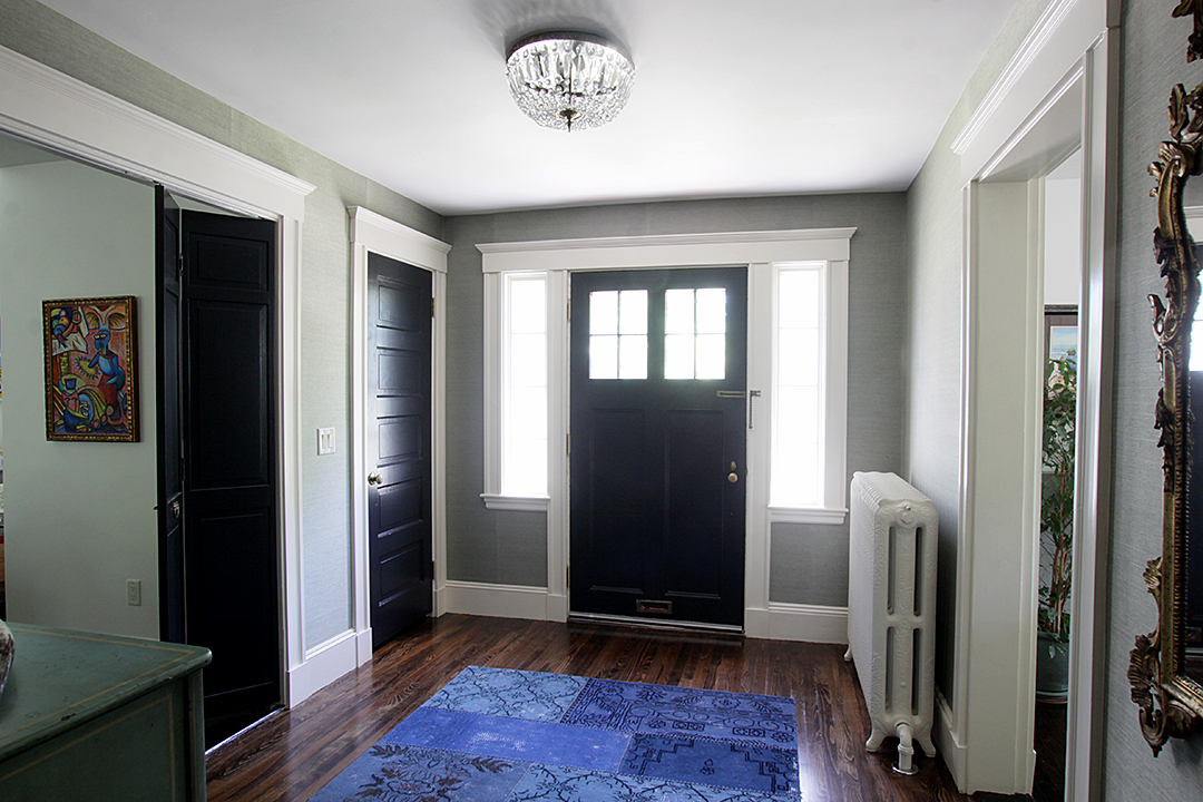 Residential renovation part 5 the foyer and powder room - What is a foyer ...