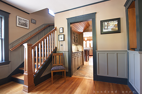Craftsman Charm – Part 1: Front Entry and Living Room – Before & After
