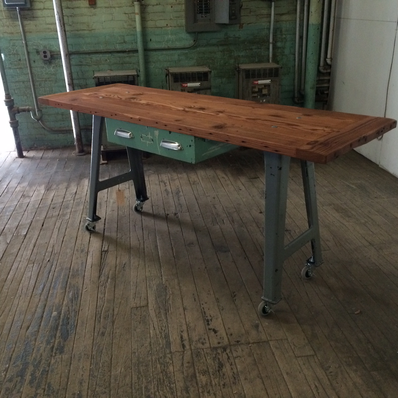 Uncategorized Industrial Kitchen Island residential design handcrafted furniture home furnishings industrial kitchen island